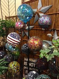 Gazing Globes Garden Decor Colorful Seasons