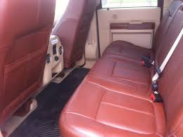 King Ranch Interior Swap With F150 Cab Does That Mean Flat Floors Ford Truck