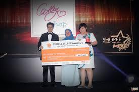 shopee seller awards 2017 beautiful glam by rawlins health