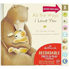recordable books hallmark baby all the ways i you by theresa trinder