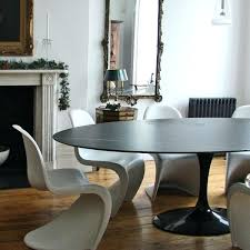 saarinen oval dining table reproduction saarinen table oval saarinen 78 oval marble tulip dining table