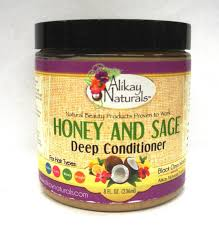 alikay naturals honey and sage deep conditioner 8 ounce natural