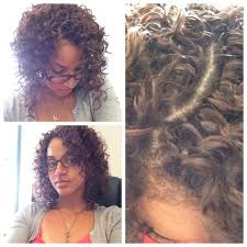 what hair to use for crochet braids how to do a crochet braids natural invisible part tamthyme