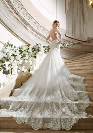 most beautiful wedding dresses wedding dress trains which style is right for you
