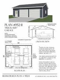 2 car garage with shop plans 864 4 by behm design garage plans