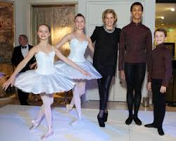 turning on the christmas lights with darcey the royal ballet