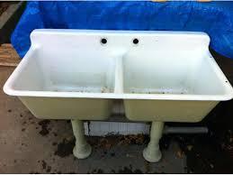 cast iron laundry sink surprising cast iron laundry sink ideas plan 3d house golesus old