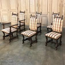 country french dining chairs six country french dining chairs by
