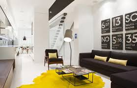 black white and yellow bedroom black white and yellow color combination for contemporary apartment