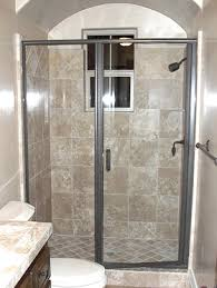 Swing Shower Doors Cardinal Series Cd1 3 16 Glass Semi Frameless With Header