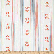 Berger Home Decor by Cycles Of Life Bike Lane Stripe White Discount Designer Fabric