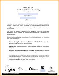 Sample Financial Power Of Attorney by 9 State Of Ohio Financial Power Of Attorney Form Attorney