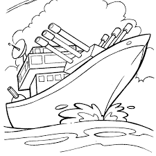 bateau de guerre transport u2013 coloriages à imprimer