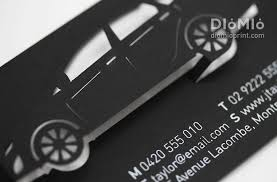 Sales Business Card A Car Is On Sales Diomioprint