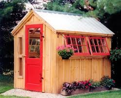 diy garden shed plans free