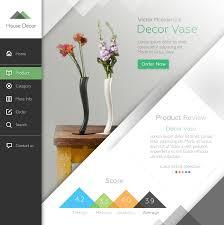 home decor site with left nav sidebar websites pinterest home decor sites