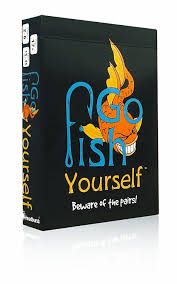 amazon com go fish yourself party game toys u0026 games