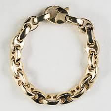 gold bracelet with links images 18 kt yellow gold gucci link bracelet coi firenze jpg