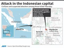 Starbucks Map Singapore Steps Up Security Following Jakarta Blasts Extends Full