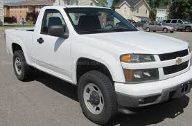 chevrolet colorado regular cab work truck 4wd for sale used