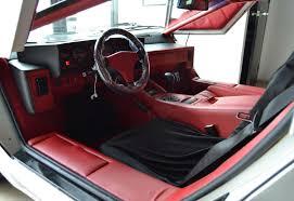 classic lamborghini interior 1990 lamborghini countach 25th anniversary edition coupe classic