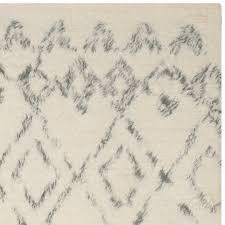 safavieh handmade casablanca moroccan flokati shag ivory grey