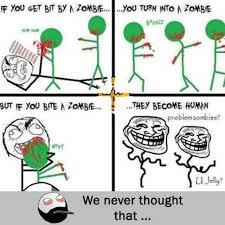 U Jelly Meme - dopl3r com memes if you get bit by a zombie you turn into