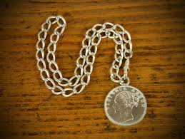 antique necklace chain images Antique sterling pocket watch chain necklace omero home jpg