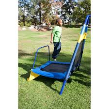 Flexible Flyer Lawn Swing Frame by Sportspower Almansor Metal Swing Set With Slide And Trampoline