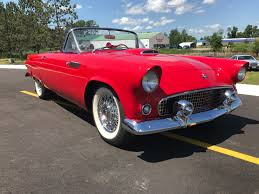 1955 ford thunderbird stock 000052 for sale near brainerd mn
