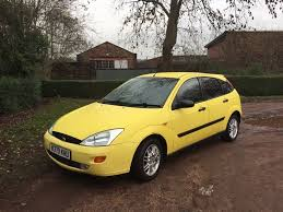 ford focus 1 8 2000 ford focus 1 8 millennium 332 of 1000 made exhaust and tyres