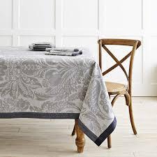 alba jacquard tablecloth williams sonoma