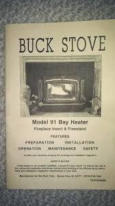 buck 91 bay insert hearth com forums home