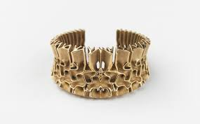 3d printed gold jewellery francis bitonti gold plated 3d printed jewelry collection