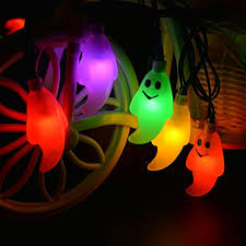 Led Outdoor Halloween Decorations solar string lights halloween decorations lights 30 led