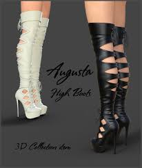 female biker boots with heels biker boots for genesis 3 female s