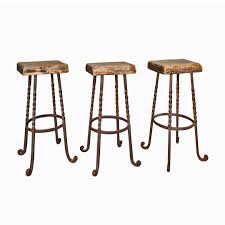 Reclaimed Wood Bar Stool Salvage And Reclaimed Wood Bar Stools Set Of 3