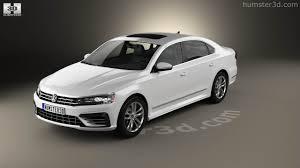 volkswagen passat r line 2016 360 view of volkswagen passat nms r line 2016 3d model hum3d store