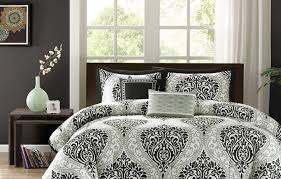 Damask Bedding Fantabulous Black And Cream Bedding Tags Pink And Grey Twin
