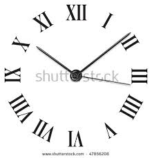 roamn numeral numeral clock stock images royalty free images vectors