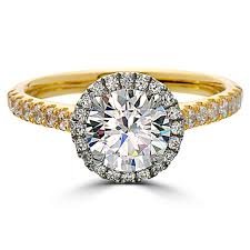 1 carat halo engagement ring point of 1 carat halo engagement ring yellow