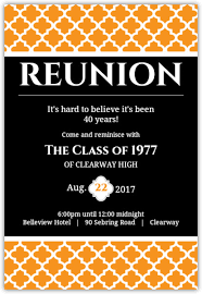 college invitations reunion invitation card templates high school college class