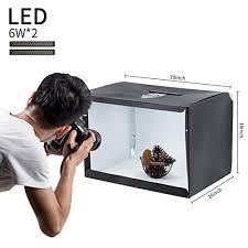 led lights for photography studio slowbeat portable photo studio 20 x16 x16 shooting tent box kit