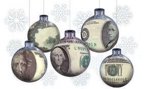 stock illustration money ornaments