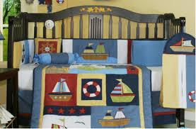 Nautical Crib Bedding Nautical Crib Bedding Sets By Geenny 13 Pcs Complete Nursery Set