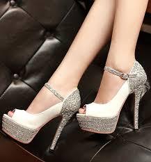 wedding shoes pumps aliexpress buy 5 colors size 34 39 high heels platform
