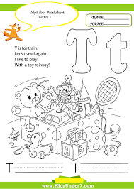 Worksheets For Kindergarten Printable Kids Under 7 Alphabet Handwriting Worksheets A To Z