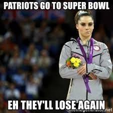 Patriots Lose Meme - patriots go to super bowl eh they ll lose again unimpressed