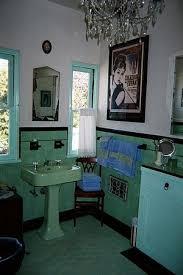 Vintage Bathroom Design Colors Bathroom With Art Deco Design Jpg Vintage Tile Pinterest