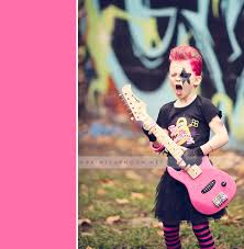 punk rock star kid u0027s birthday party lots of fun photos and